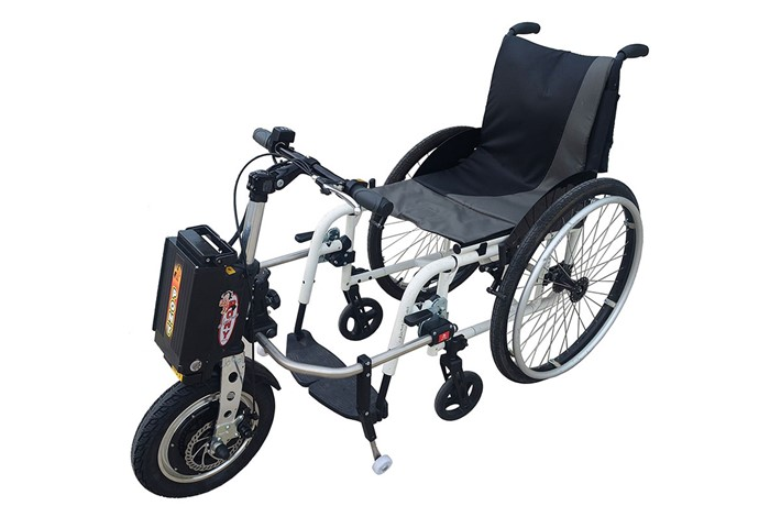 Pony the motorised wheel for wheelchair